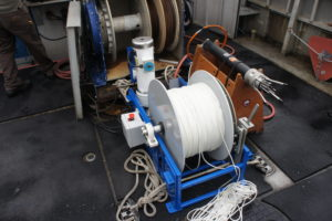 PID-02 Winch with microCTD Turbulence Profiler aboard the R/V John Strickland