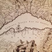 Drawing of Lake Geneva